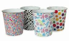 Blue Canyon Plastic Pattern Bins - Round